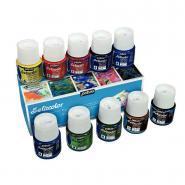SETACOLOR pour tissus clairs - Boîte de 10 flacons