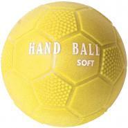 Ballon hand PVC soft T.0 jaune