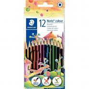 Etui de 12 crayons de couleur Noris colour 185 assortis