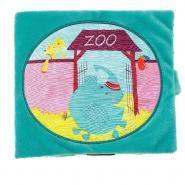 "Livre en tissu ""Albert au Zoo"""