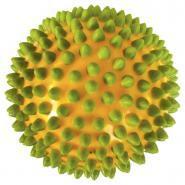 Balles sensorielles bicolores diamètre 10cm - Lot de 4