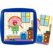 """Puzzle à cadres de 25 pièces """"La journée d'un enfant"""" - Lot de 4"""