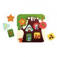 """Puzzle 3D de 5 pièces en mousse EVA """"L'arbre"""""""