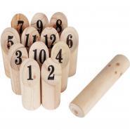 Le jeu de quille finlandaise 12 pièces