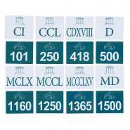 Nombres romains de 101 à 2100