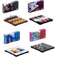 Mini jeux magnétiques - Boite de 4