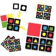 Formes et couleurs magnétiques