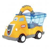 Camion benne à poignée jaune