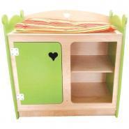 Table à langer pour poupées, en bois