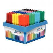 Feutres TURBO MAXI  24 couleurs différentes - Classpack de 108