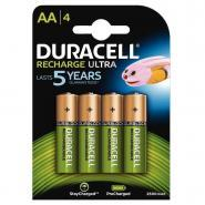 Accu DURACELL AA2500A Ultra Power - Blister de 4