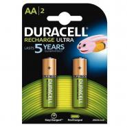 Accu DURACELL AA2500A Ultra Power - Blister de 2