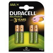 Accu DURACELL AAA 750A Plus Power - Blister de 4