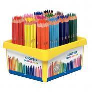 Crayons de couleur Stilnovo assortis - Classpack de 192