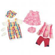 Vêtement d'été pour poupée fille - Lot de 3