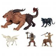 Figurines Mythologiques PAPO - Lot de 5