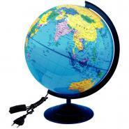 Globe lumineux physique et politique - Diamètre 30 cm