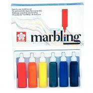 Kit de coloration sur tissus marbling (technique simplifiée)
