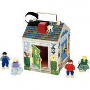 Maison des secrets, en bois