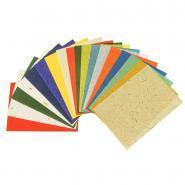 Feuilles de papier naturel, format 23 x 33 cm - Sachet de 18