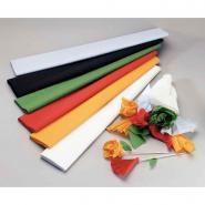 Papier crépon supérieur - 250x50 cm - Vert empire