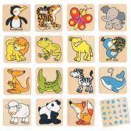 Mémo des animaux 32 pièces
