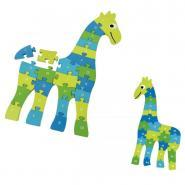 Puzzle girafe 3D alphabet / nombre