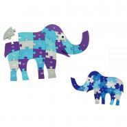 Puzzle éléphant 3D alphabet / nombre
