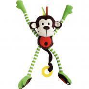 Le singe malicieux aux grands bras