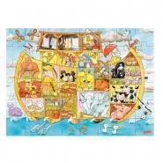 Puzzle en bois 48 pièces, l'arche de Noé