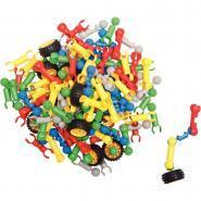 Jeu de construction KLOCKI 150 pièces + 10 roues