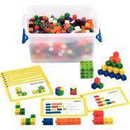 Baril de 500 cubes + 42 fiches d'activités recto / verso