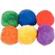 Balles en laine diamètre 9cm - Lot de 6