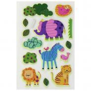 Stickers 3D phosphorescents baby - Sachet de 47