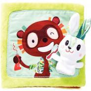 Livre en tissu le Lapin Dentiste
