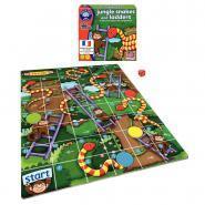 Puzzle le jeu de l'échelle serpent