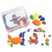 Boîte de 36 galets + 20 cartes d'activités