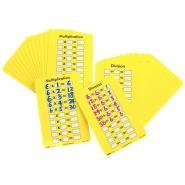 Set de 30 cartes multiplication / division