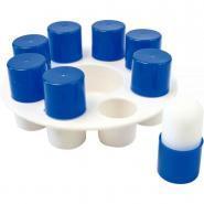 Palette en plastique ronde pour tampon