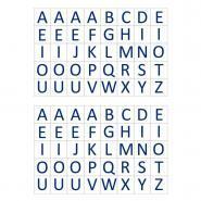 Gommettes lettres - Pochette de 1600