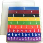 Set de fraction linéaire 51 pièces