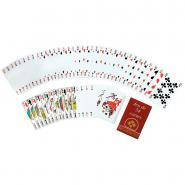 Jeu de 54 cartes sous étui carton