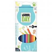 Crayons de couleur - Pochette de 12