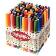 Feutres Baby Color pointe moyenne assortis - Classpack de 120
