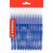 Recharge pour schoolpack de 12 feutres Power pointe moyenne bleu foncé