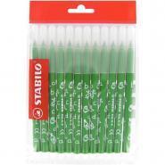 Recharge pour schoolpack de 12 feutres TRIO A-Z vert