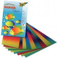 Feuilles de papier arc-en-ciel - Pochette de 10