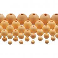 Perle en bois brut 7d - Sachet de 575