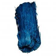 Raphia végétal - Bleu - Pelote de 50g