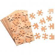 Puzzle bois 28p 12x19cm - Lot de 10